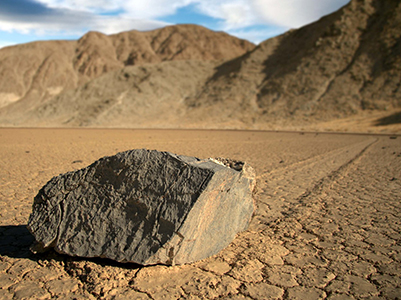 Traveling Rocks - Death Valley