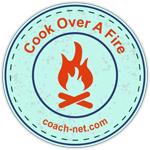 Cook Over a Fire Badge - Coach-Net COBR