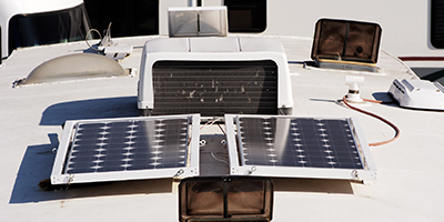 Cool RV Renovations Solar Panels