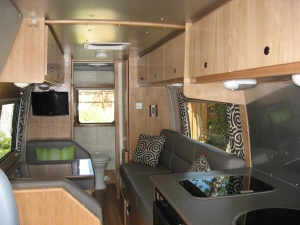 RV Living Area After