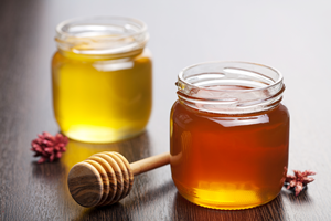A Variety of Honey Colors
