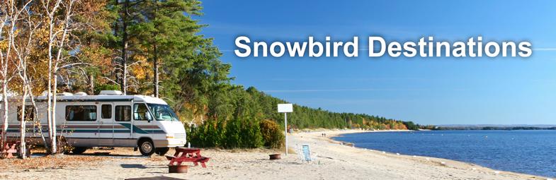 Campgrounds destination rv travel snowbirds travel destination