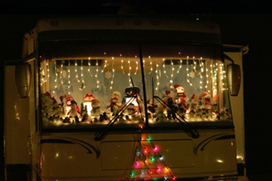 How To Decorate Your Rv For The Holidays Coach Net
