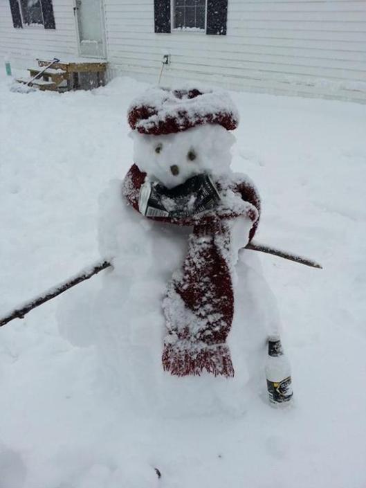 The Not Faceless Snowman