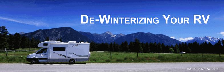 De Winterizing Your Rv Coach Net