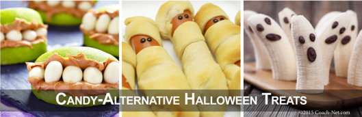 Candy-Alternative Halloween Treats