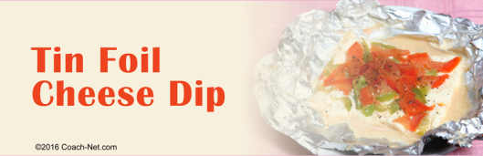 Tin Foil Cheese Dip