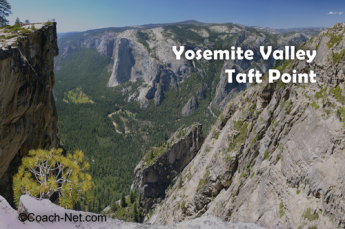 Yosemite Valley Taft Point