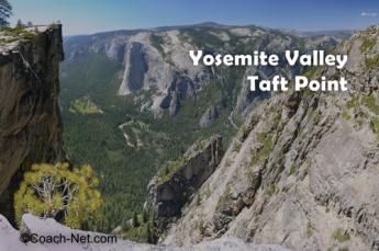 Yosemite Valley Taft Point