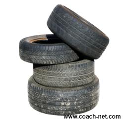 mismatched tires