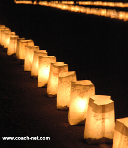 luminaria display