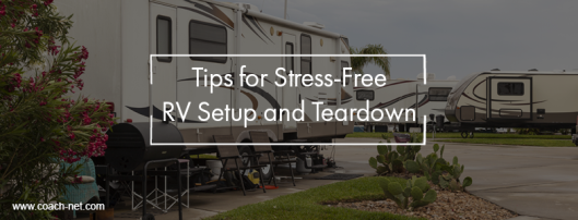 RV Setup and Teardown
