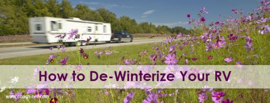 De-Winterize RV