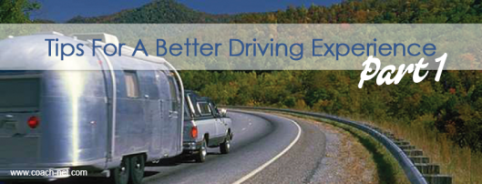 better RV driving experience