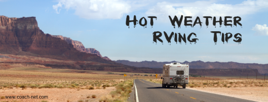 hot weather rving