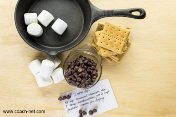 s'mores dip ingredients