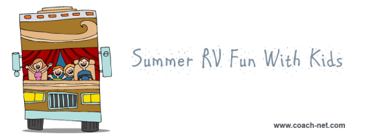 summer rving with kids