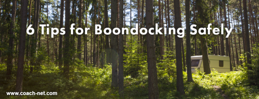 boondocking safely
