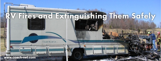 Extinguishing RV fires