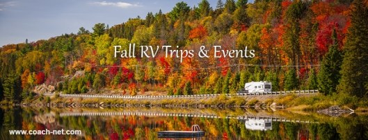 Fall RV Trips and Events