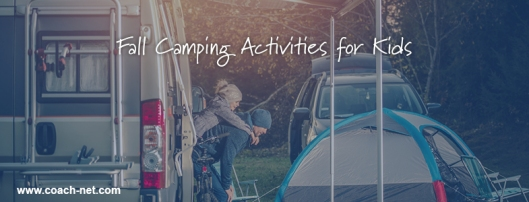 fall camping activities for kids