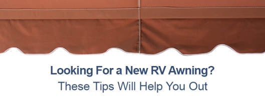 new rv awning tips