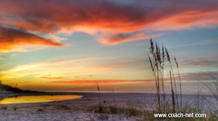 Sunrise on Santa Rosa Beach