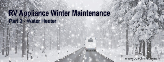 RV Water Heater Winter Maintenance