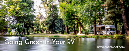 Going Green In Your RV
