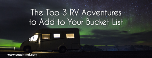 RV Bucket List