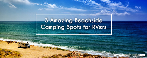 beachside RV camping spots