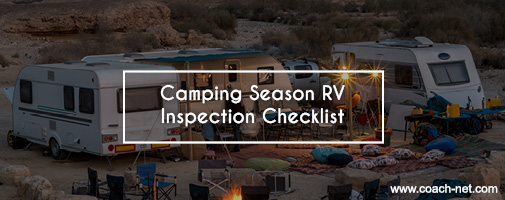 Camping Season RV Checklist