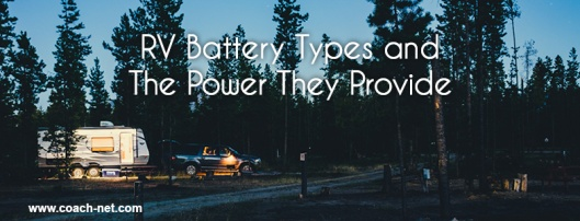 RV Battery Types