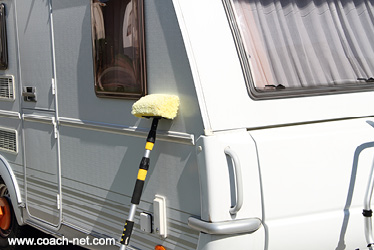 cleaning rv