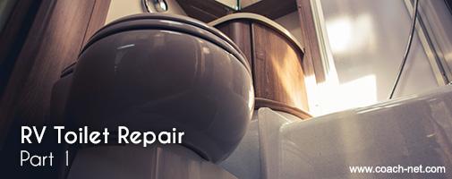 RV Toilet Repair