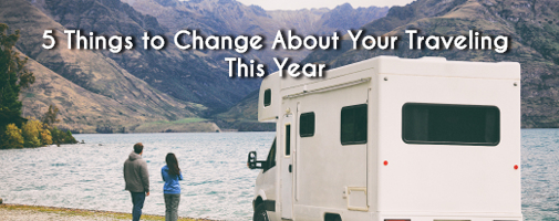 5 Things to change about your traveling this year