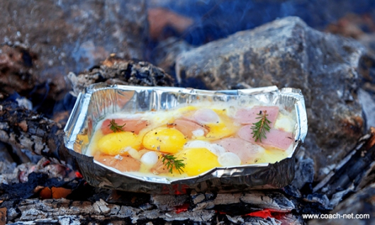 Camp Fire Breakfast