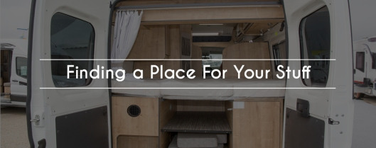 Finding A Place For Your Stuff