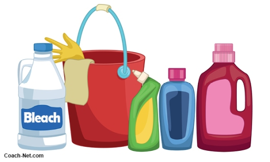 Hazardous Cleaning Material