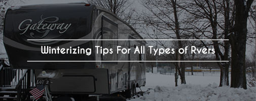 Winterizing Tips