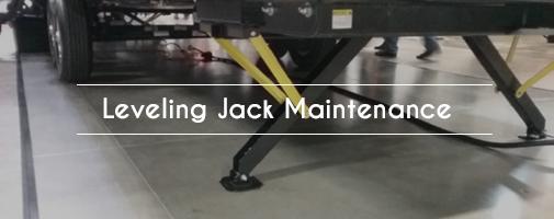 Leveling Jack Maintenance