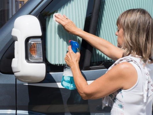 Disinfecting Your RV