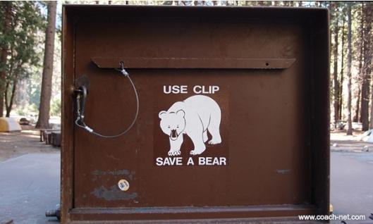 Bear Proof Trashcan