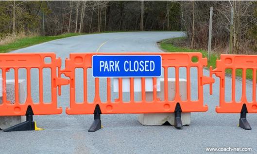 RV Park Closed