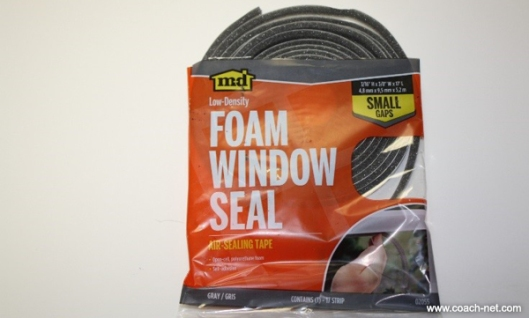 Foam Window Seal