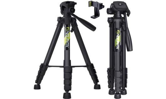 "Endurax 67"" Video Camera Tripod for Canon Nikon DSLR"
