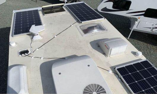 Solar Power Set-Up